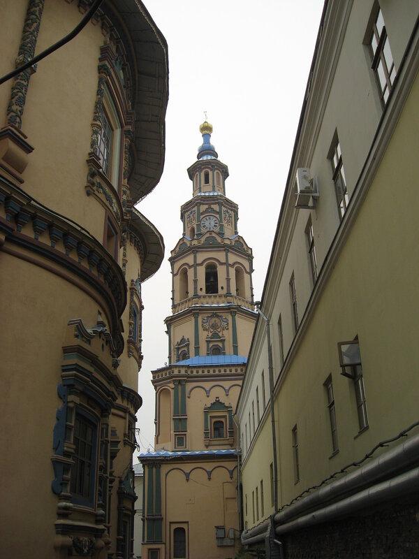 Колокольня Петропавловского собора.