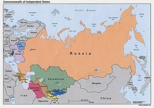 Павел Воля про карту России ...