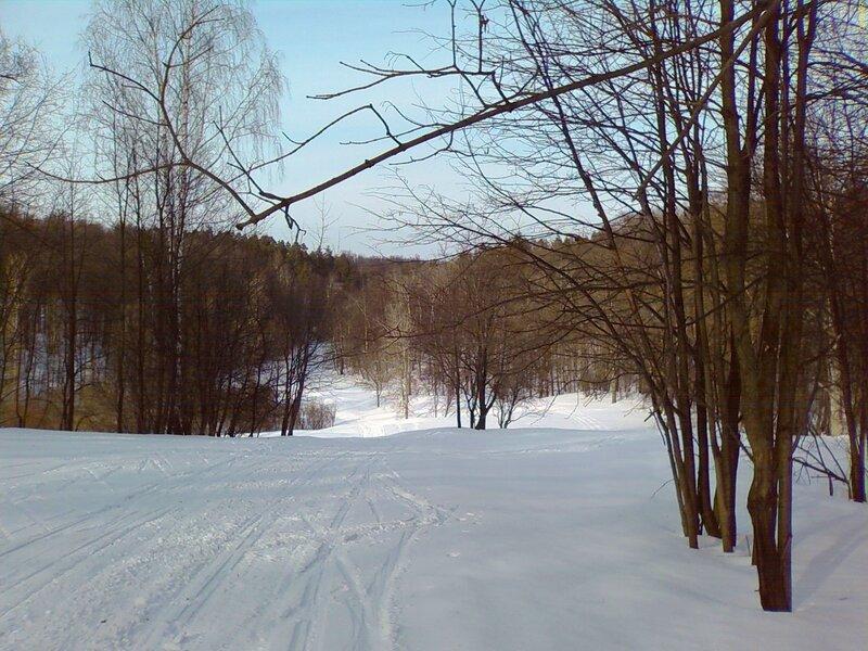 7. Лыжная трасса - самая большая горка