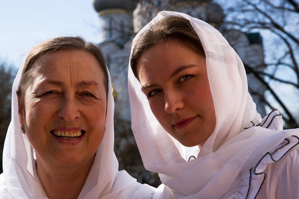 дочь и мама