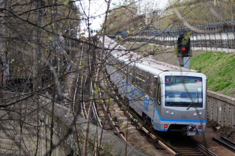 Русич на выходе из тунеля