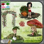 «Скрап Капли дождя на розах» 0_5fedb_152c1c2_S