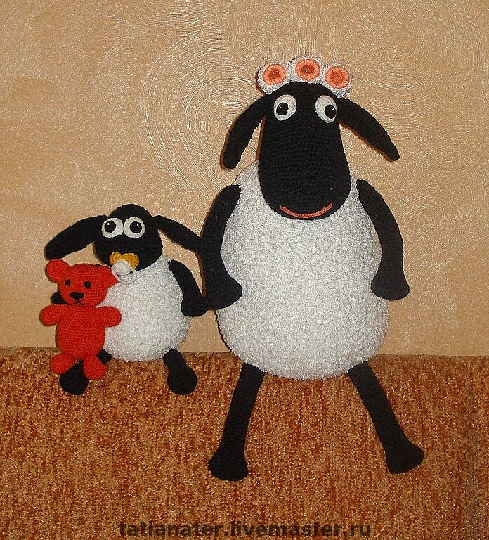 Мои вязаные игрушки. biser.info - всё о бисере и бисерном творчестве