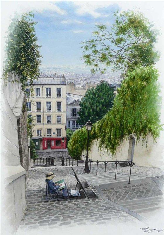 Автор картины Thierry Duval