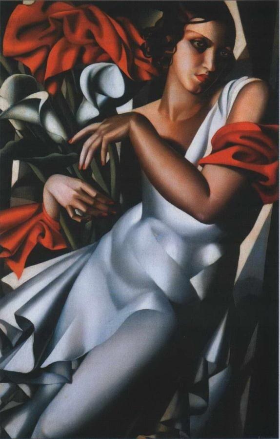 Лемпицка Тамара. Портрет мадам П. 1930.http://veniamin1.livejournal.com/profile