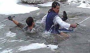 За время холодов в Хабаровском крае погибли четыре провалившихся под лёд человека