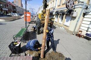 Во Владивостоке на Арбате завершена перекладка коммунальных сетей