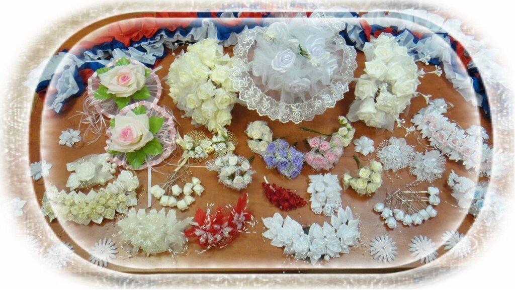 Свадебные украшения швейная