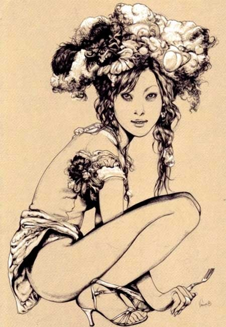 Vania Zouravliov, the Russian illustrator
