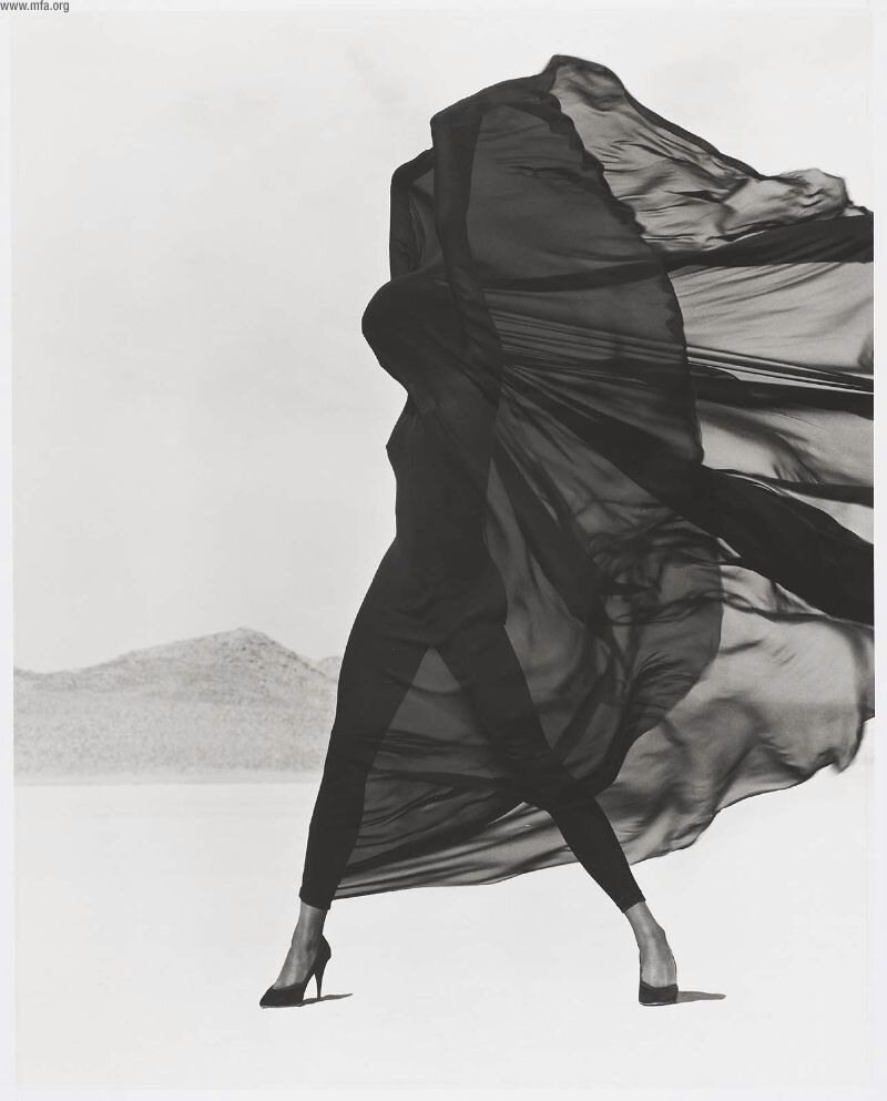 Photographer Herb Ritts.