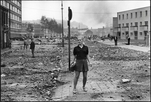 Battle of the Bogside, Northern Ireland, August 1969