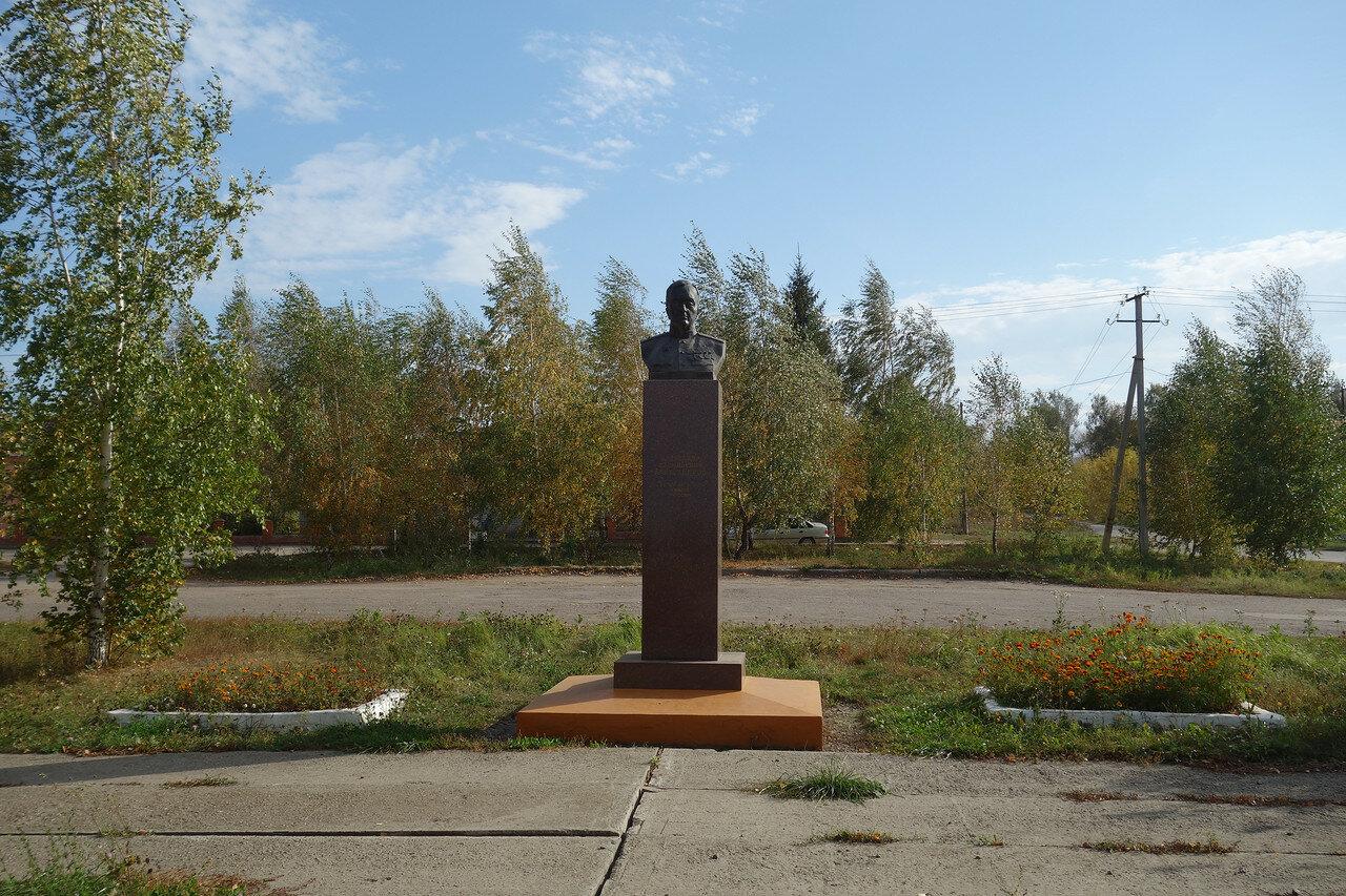 село Плахино, А.В. Александров