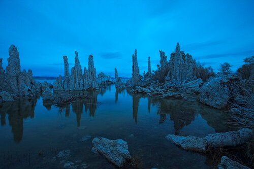 Раннее утро на Mono Lake