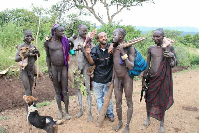 Фото голых африканских племен