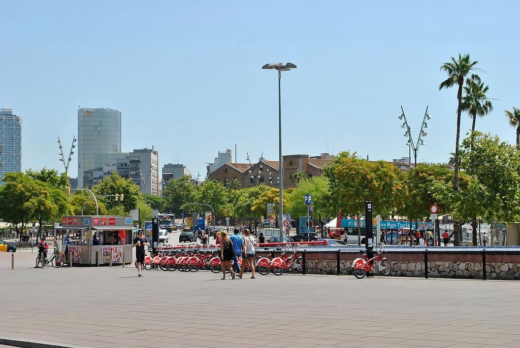 Caminhe ao redor Barcelona