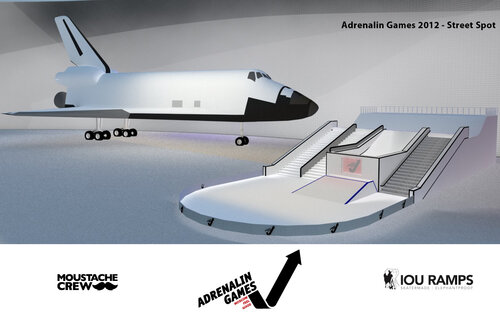 Adrenalin Games 4D. Сноубординг на космическом шатле.