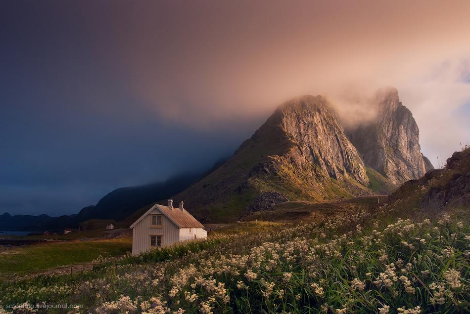 Норвегия, большое путешествие по Лофотенам. Часть 5: Ваерой