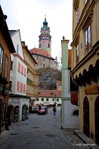 чески-крумлов, башня, замок