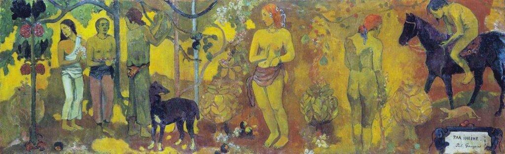 Faa Iheihe 1898 by Paul Gauguin 1848-1903