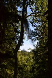 о.Анзер. Вид на Голгофо-Распятский скит