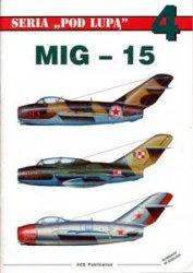 Книга MiG-15 (Seria Pod Lupa - 4)