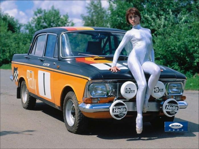 Cоветские автомобили, ставшие популярными на Западе