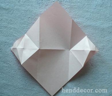 Открытка с бумажным поцелуем