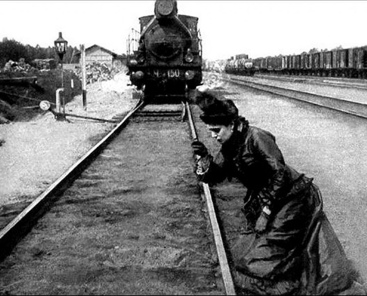 """Анна Каренина"", 1914 год. Анна - Мария Германова."