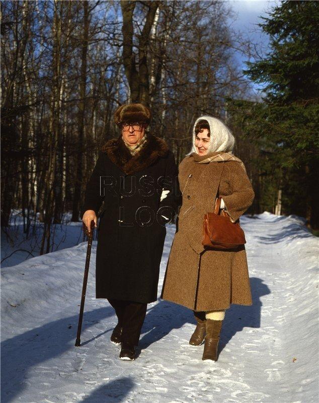 Георгий Свиридов и Ирина Архипова