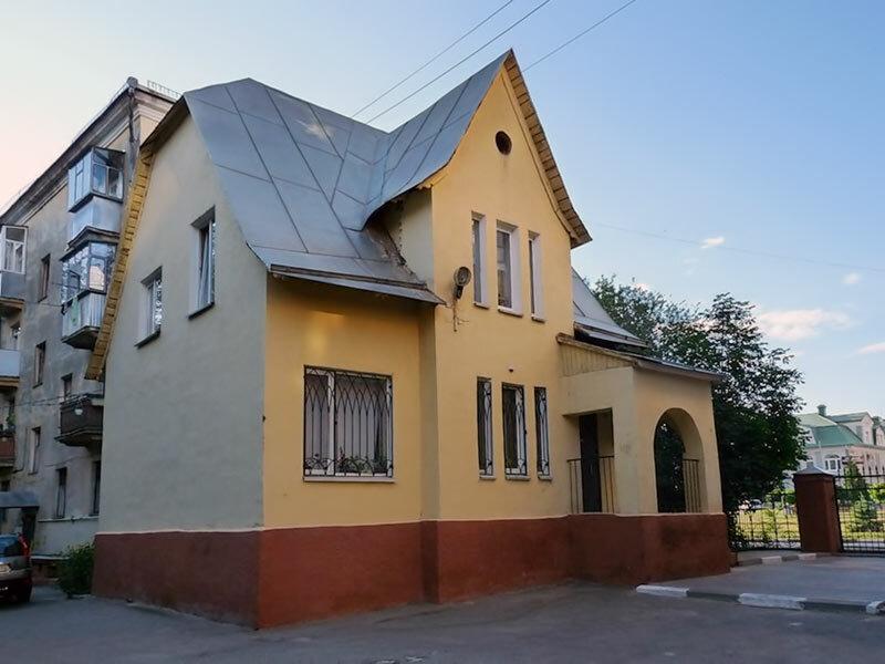 Белгород, дом немецкого инженера, построен в конце 1940-х
