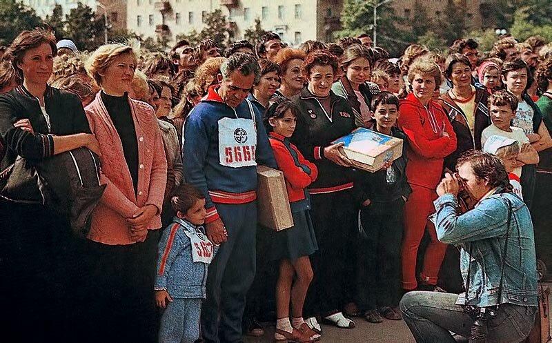 День бега в Белгороде, начало 1980-х