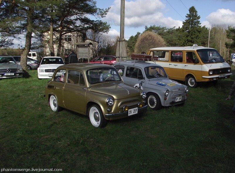 ЗАЗ-965А, 1966 г. (ближе) ЗАЗ-965А, 1965 г. (дальше)