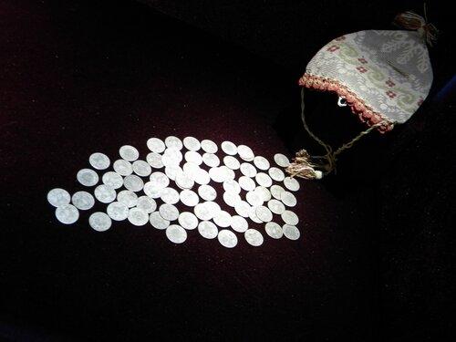 монетки из мешочка