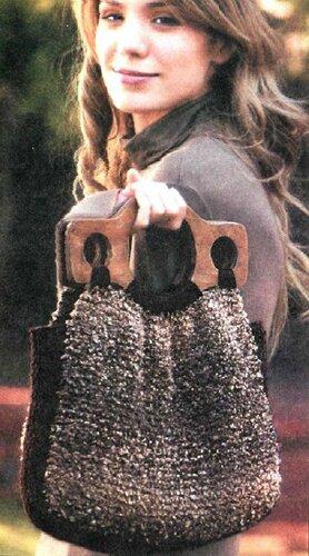 сумки спицами