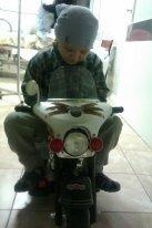 Ваня М. Детский мотоцикл