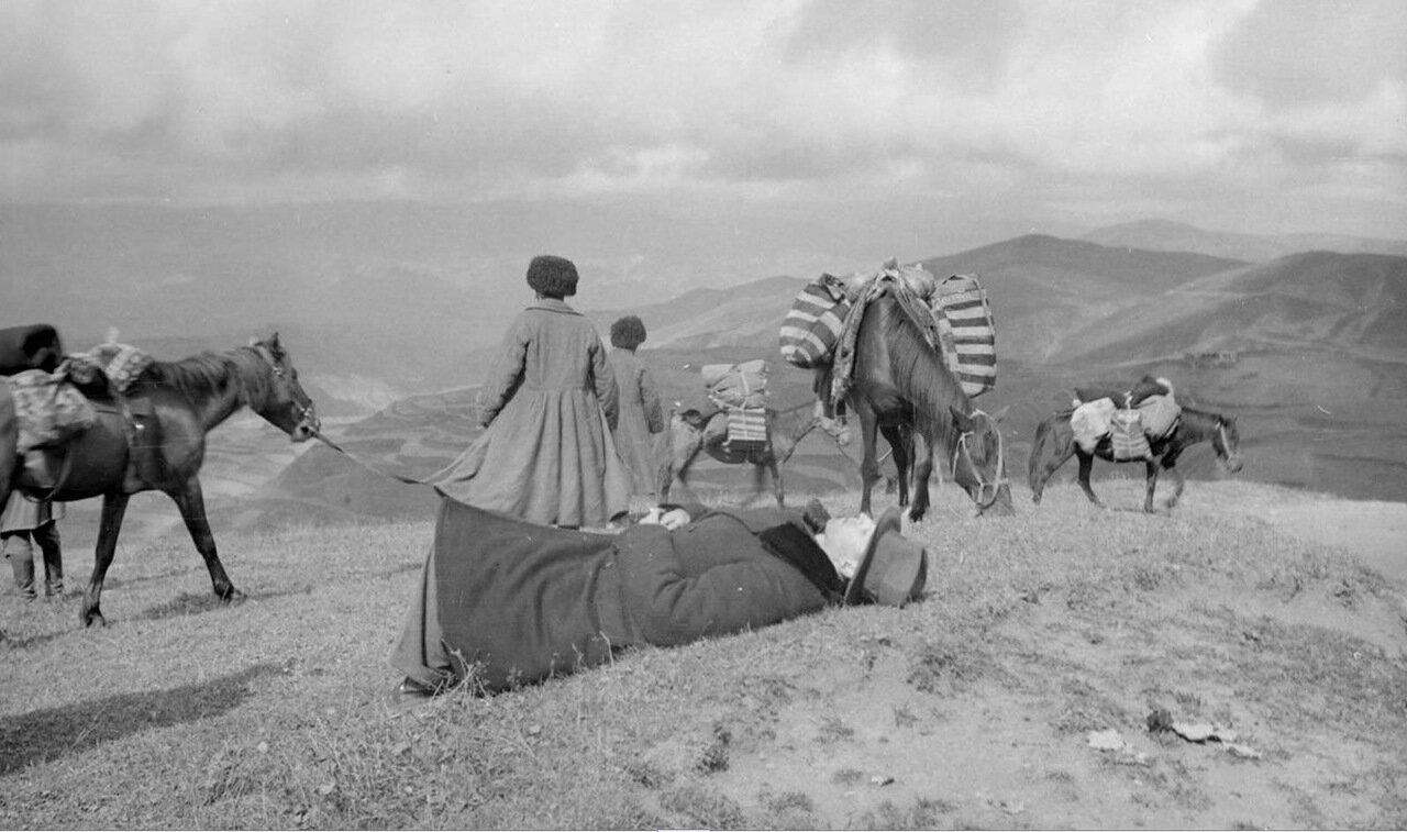 Путешественники в Дагестане