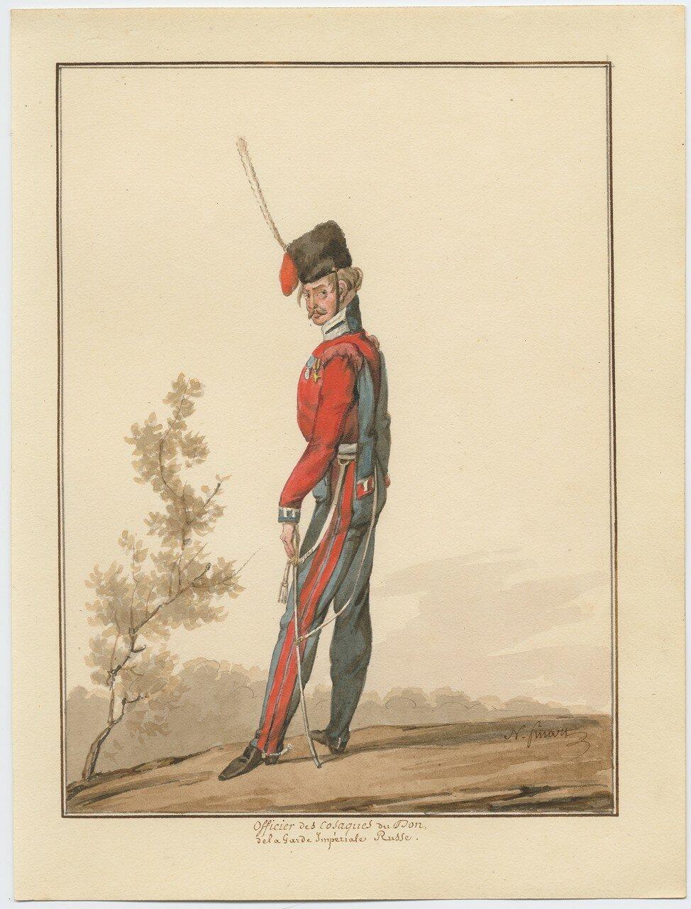 Офицер донских казаков 1815