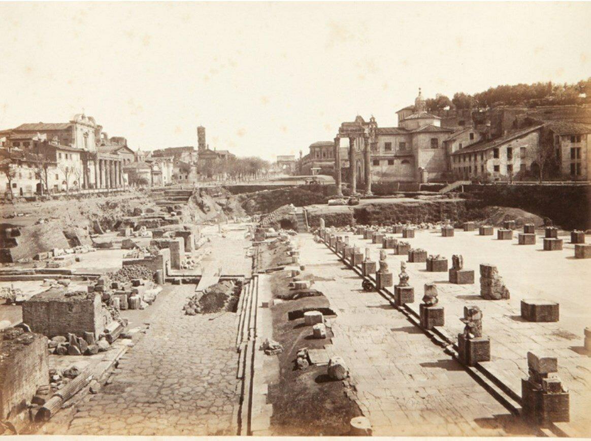 Римский Форум. 1870