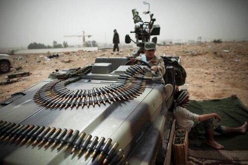 Фототрепортаж Шпигеля из Ливии
