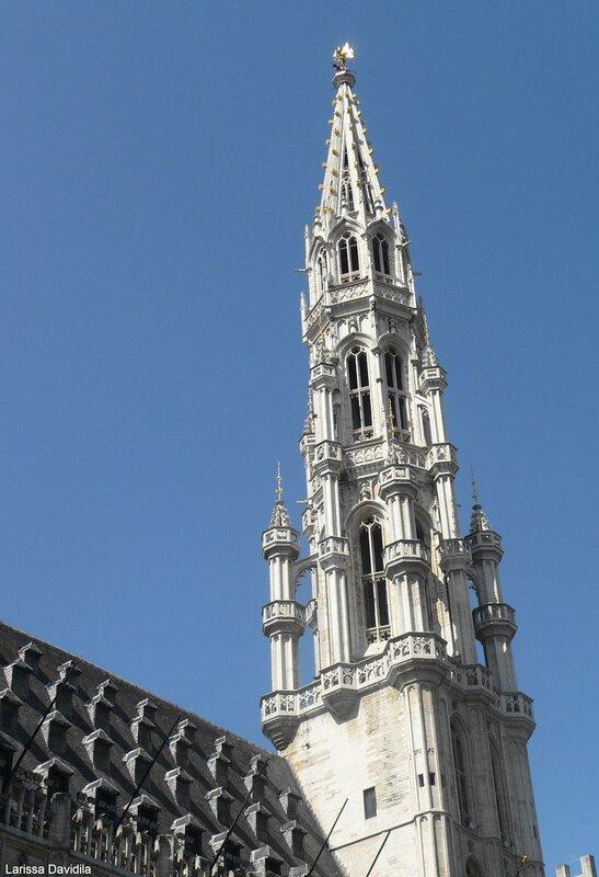 Жемчужина Брюсселя - Ратуша.