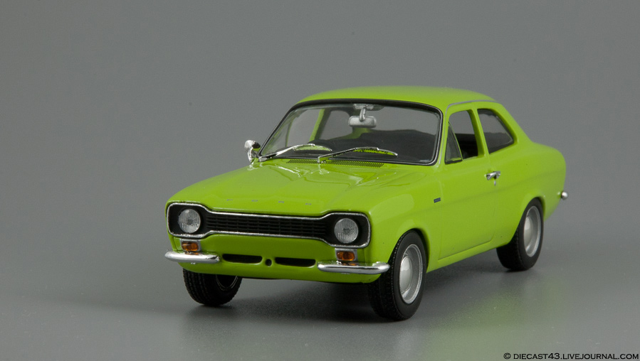 Ford Escort RS1600 1971 Le Mans Green Minichamps