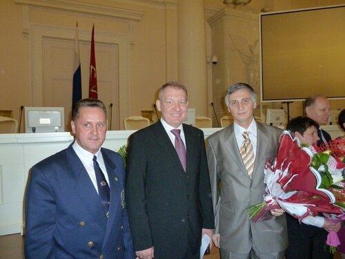 С Вячеславом Чазовым