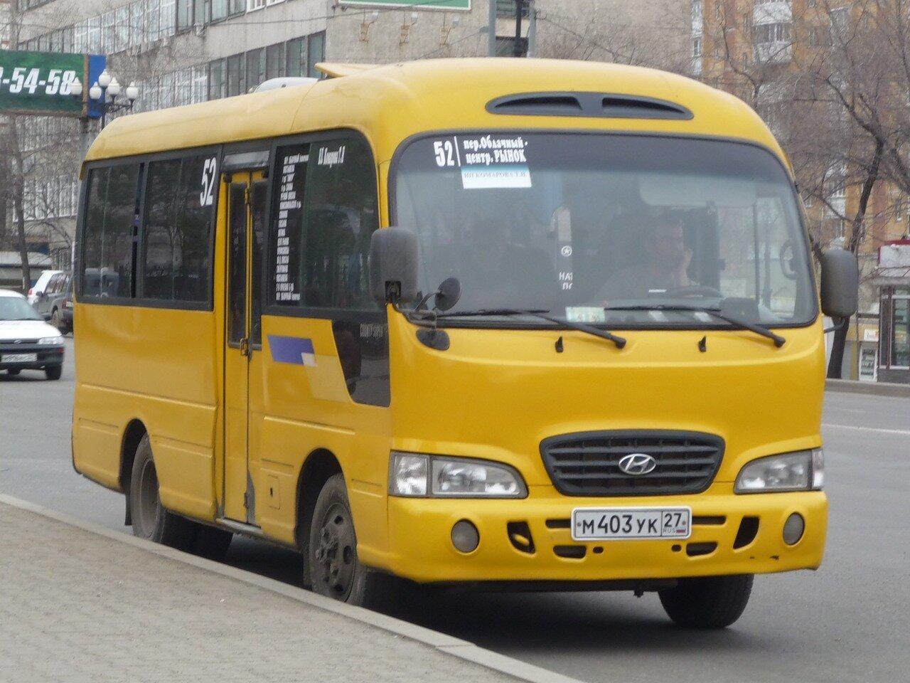 схема движения автобус № 23 хабаровск