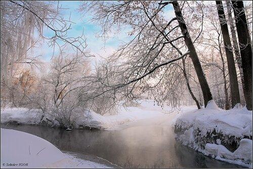 Зимнее утро Понамарки