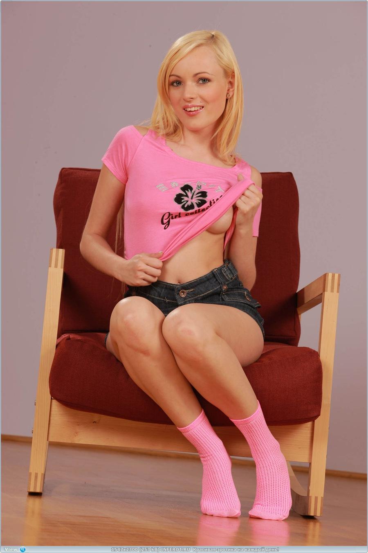 Надела розовые трусики в виде сердечка! (20 фото)
