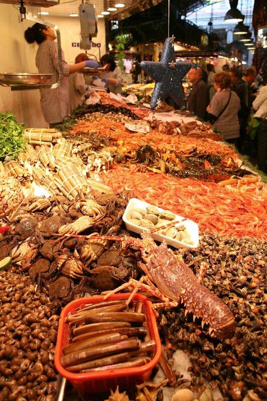 Рынок Бокерия в Барселоне