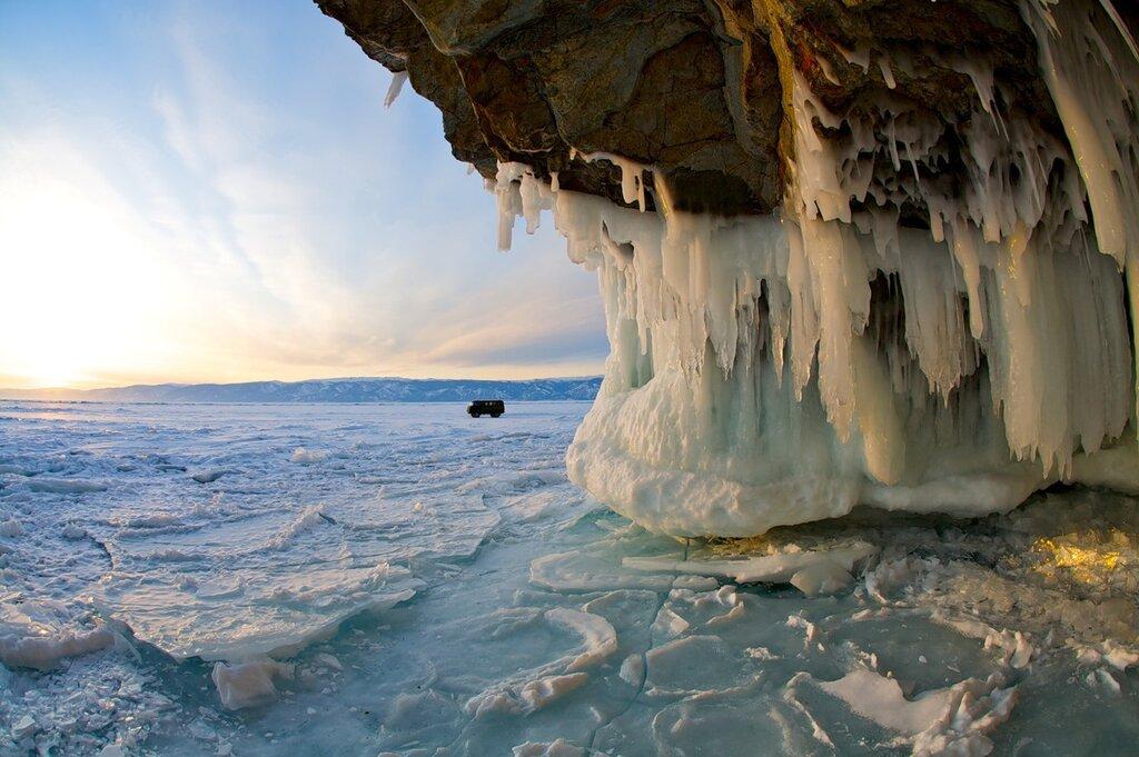 На озере Байкал