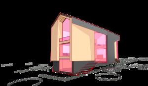 двухэтажного дома чуть-лучше сарая, с гаражом и жилыми помещениями. Благовещенка Пятницкое 12 -32 02