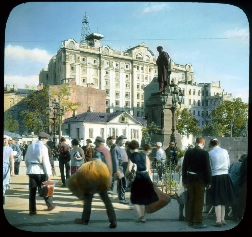 tverskaya_street_ - Страстная площадь