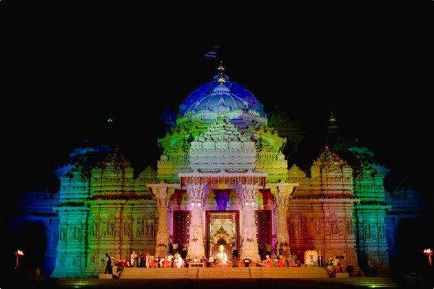 Храм Акшардхам. Дели, Индия